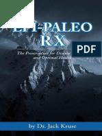 Epi-paleo Rx the Prescription for Disease Reversal