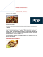 Comidas en Guayaquil