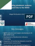 McQuatters-Gollop 2014 MSFD Plankton