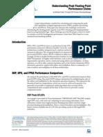 Understanding Peak Floating Point Performance Claims