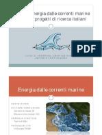 energie correnti marine