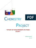 Chemisty 12th Project