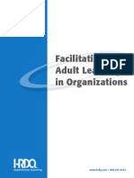 Adult Learning Facilitating