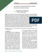 Propagation Model Development