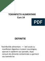 15. Toxiinfectiile alimentare semiologie