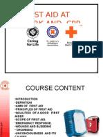 Basic First Aid Rc