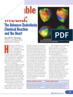 The Belousov-Zhabotinsky Chemical Reaction and the Heart