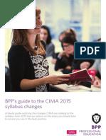 CIMA Syllabus Update Guide