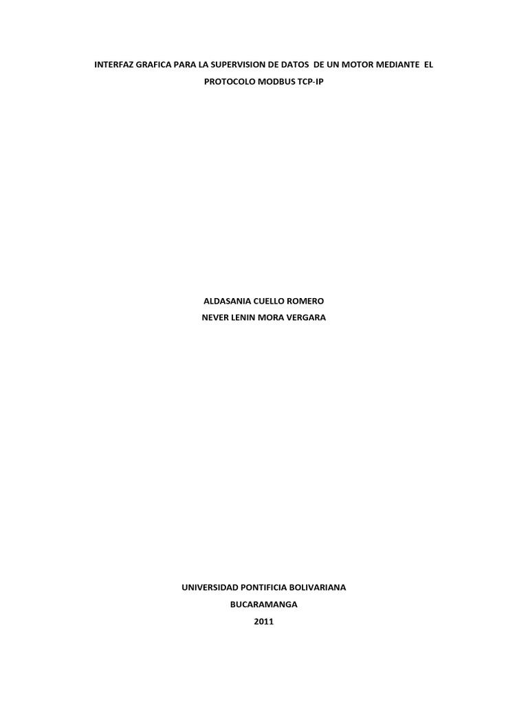 Modbus en Visual Basic
