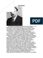 Ion Barbu-fisa bibliografica