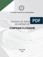 Contrato de Prestação de Serviços de Contabilidade - CFC (2003)