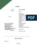 Chavez v. Gonzales, G.R. No. 168338, Feb. 15, 2008