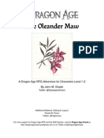The Oleander Maw -- A Dragon Age Adventure