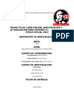 Trabajo Investigacion Segunda Presentacion 2014 V3