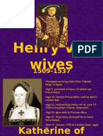 Henry Vii is Wives