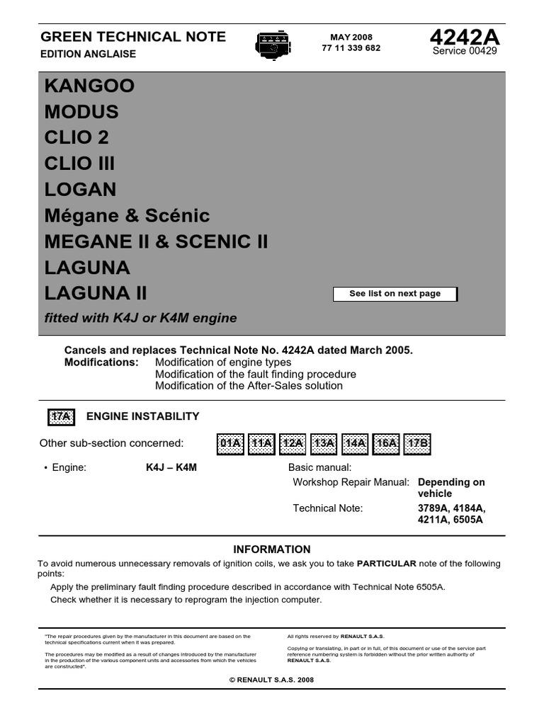 Renault Dialogys Electronic Spare Parts Catalog Renault Cars Workshop
