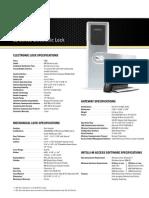 2201_Wireless Lock Spec Sheet 8 Front