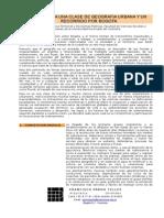 Apuntes Geografia Urbana y Recorrido Bogota