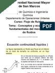 Conceptos Fundamentales Del Movimiento de Fluidos