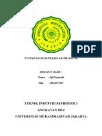 UMJ-TI-Tugas Al Islam Aji Darmadi