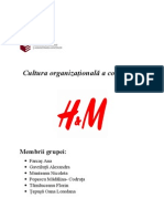 Cultura Organizatională H&M