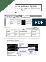 fiche 04 - tableau, supprimer colonne et ligne
