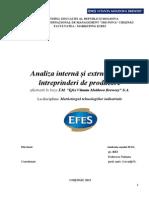 Analiza Strategica Interna Si Externa a Intreprinderii (Автосохраненный)