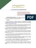 Decreto Nº 7.082, De 27 de Janeiro de 2010.