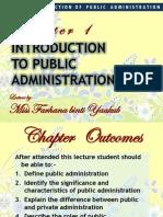 Pub 101 Introduction To Public Administration I Public