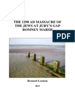The 1290 Massacre of the Jews at Jury's Gap Romney Marsh