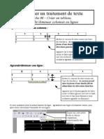 fiche 06 - tableau, agrandir et diminuer colonne ou ligne