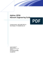 CA GPON Network Engineering Guide Rev3
