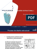 EL PROCESO DEL DISEÑO ESTRUCTURAL