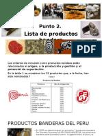Punto2 Lista de Productos Bandera