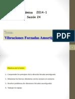 VIBRACIONES FORZADAS AMORTIGUADAS