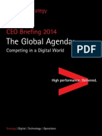 Accenture Global Agenda CEO Briefing 2014 Competing Digital World Copy