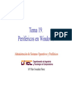 Perifericos en windows