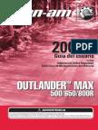 ES1 - Guia de Usuario - Can Am 800R Max