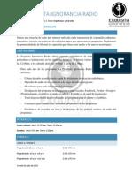 Radio Internet - Información