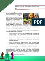 Concepto, Características y Objeto de Estudio de La Sociología