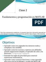 Clase 2 Fundamentos MATLAB y programación.pdf