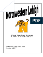 Fact Finding Report 11-5-09