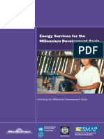 ESMAP, Energy Services for the MDG, 2005