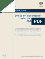 Evolución Del Empleo Informal en Perú 2004-2012