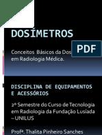 Dosc3admetros Conceitos Bc3a1sicos Da Dosimetria Em Radiologia Mc3a9dica