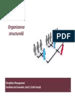 B.organizarea Structurala
