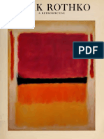 Mark Rothko, a Retrospective