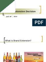 Session 4 Brand Extn