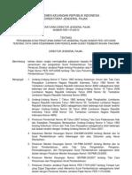 Departemen Keuangan Republik Indonesia Direktorat Jenderal Pajak