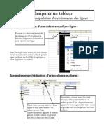 fiche 07calc - manipulations colonnes et lignes